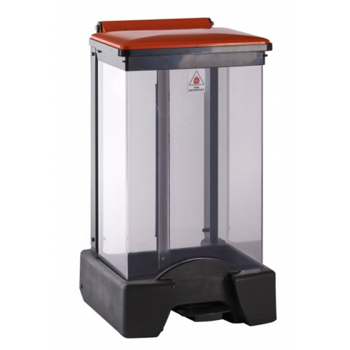 Fire Retardant Clear Body Sackholder - 45 Litre - Buy online from Bin Shop