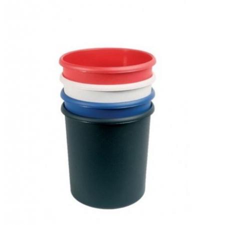 Coloured Waste Bin - 18 Litre - Pack of 4