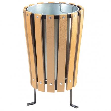 PRIAM - Wood Effect Plastic External Bin
