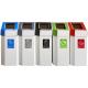 MyBin Create Cardboard Recycling Bins 60 Litres - Pack of 5