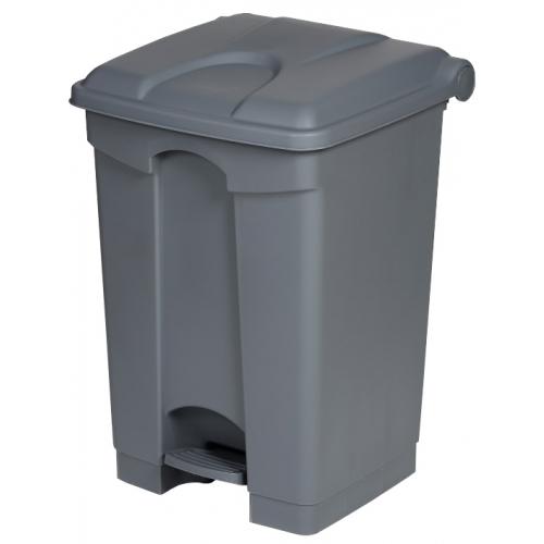 Wheelie Bin Cleaning >> Plastic Pedal Bin - 45 Litre - Buy online from Bin Shop