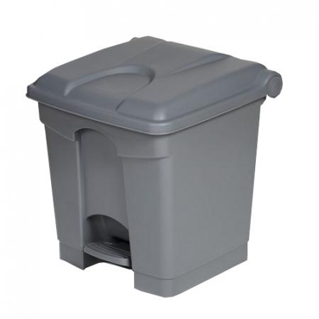 Plastic Pedal Operated Litter Bin - 30 Litre
