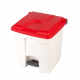 Plastic Pedal Operated Recycling Bin - 30 Litre