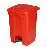 Plastic Pedal Operated Litter Bin - 45 Litre