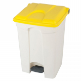Plastic Pedal Operated Recycling Bin - 45 Litre
