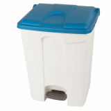 Plastic Pedal Operated Recycling Bin - 70 Litre