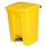 Plastic Pedal Operated Litter Bin - 70 Litre