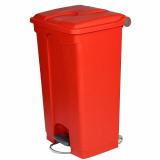 Plastic Pedal Operated Litter Bin - 90 Litre