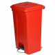 Plastic Pedal Operated Litter Bin - 90 Litre