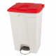 Plastic Pedal Operated Recycling Bin - 90 Litre