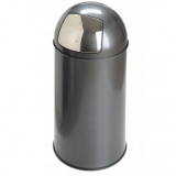 40 Litre Push Bin with Liner