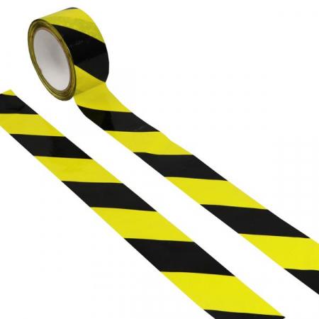 Chevron Floor Marking Tape - 33m x 48mm Wide