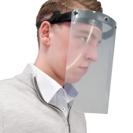 Protective Face Shield Safety Visor - Box of 100
