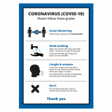 Infection Control A2 Poster - Office & Premises - Multipack