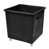 Recycled Black Wheeled Bottle Bin - 185 Litre