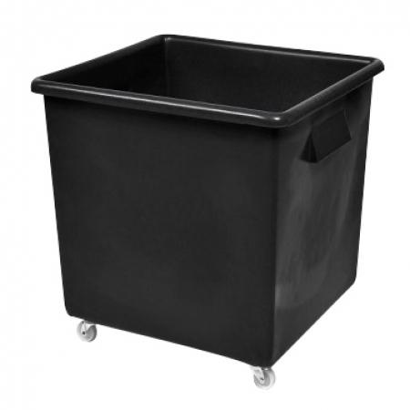 Recycled Black Wheeled Bottle Bin - 185 Litre