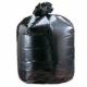 "Medium Duty Black Compactor Sacks 22"" x 33"" x 47""- 100 Liners Per Box"