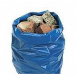 "Blue Rubble Sack 20"" x 30"" 300 Gauge - 100 Liners Per Box"