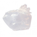 "Medium Duty Clear Refuse Sacks 18"" x 29"" x 39"" - 200 Liners Per Box"