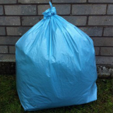 "Medium Duty Blue Refuse Sacks 18"" x 29"" x 39""- 200 Liners Per Box"