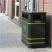 Derby Double Steel Litter Bin - 240 Litre Capacity