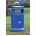 Maelor Trafflex Round Litter Bin - 90 Litre Capacity