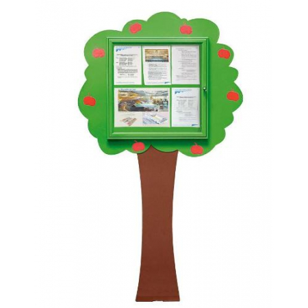 School Fun Information Tree 6x A4 Poster Case