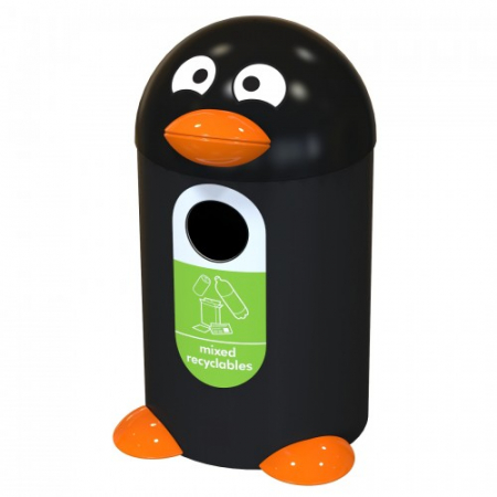 Penguin Buddy Recycling Bin - 55 Litre