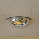650mm Diameter Half Hemispherical Mirror