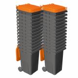 40x 140 Litre Wheelie Bins
