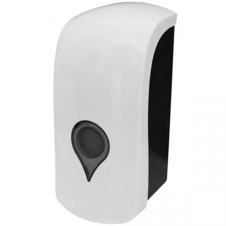 Wall Mounted Manual Liquid Soap & Hand Sanitiser Dispenser - 1 Litre Capacity
