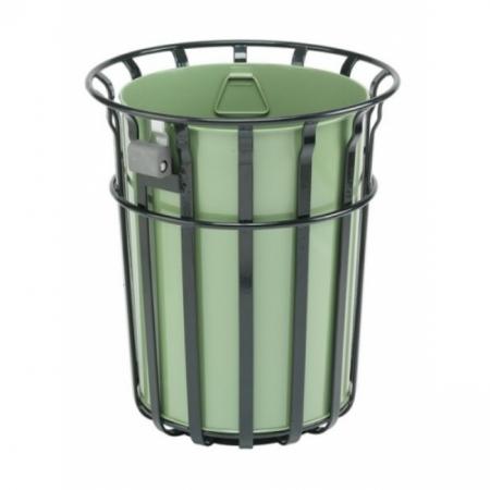 Bensham Park Litter Bin - 82 Litre Capacity