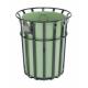 Bensham Park Litter Bin - 145 Litre Capacity