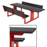 Wheelchair Friendly Forest Saver Picnic Table