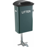 Pedal Operated Dog Waste Bin - 45 Litre