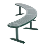 Ranger Curved Bench - 3000mm Length