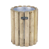 Warden Litter Bin - 82 Litre Capacity