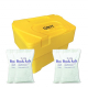3.5 Cu Ft Grit Bin with 4x 25 kg Bags of White Rock Salt