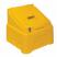 7 Cu Ft Heavy Duty Grit Bin with 8x 25 kg Bags of White Rock Salt
