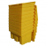 12 Cu Ft Yellow Grit Bin - 350 Litre / 400 kg Capacity