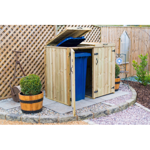 ... Double Chest Timber Wheelie Bin Store ...  sc 1 st  Bin Shop & Double Chest Wheelie Bin Store - Buy online from Bin Shop