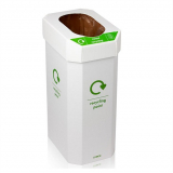 Combin Cardboard Combination Recycling Bin - Pack of 5