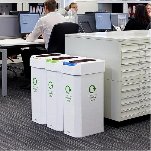 Good ... Combin Cardboard Combination Recycling Bin   Pack Of 5 ...