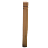 Seaton Oak Bollard - 94 x 94 x 1200mm