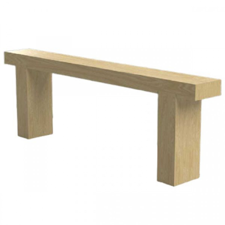 Swyre Single English Softwood Larch Bench