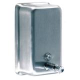 Stainless Steel Vertical Hand Sanitiser Dispenser - 1.2 Litre Capacity