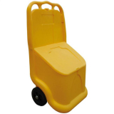 UniKart Wheeled Grit Bin - 75 Litre / 75 kg Capacity