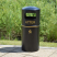 Eco Recycled Hooded Top Litter Bin - 90 Litre