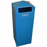 Wharf Litter Bin - 65 Litre