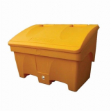 Large 400 Litre Yellow Grit Salt Bin